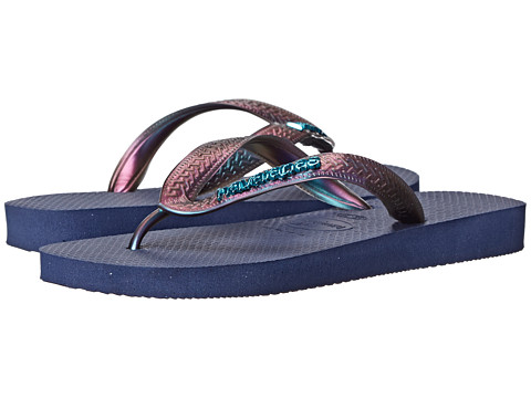 Havaianas - Top Furta Cor Flip Flop (Navy Blue) Women