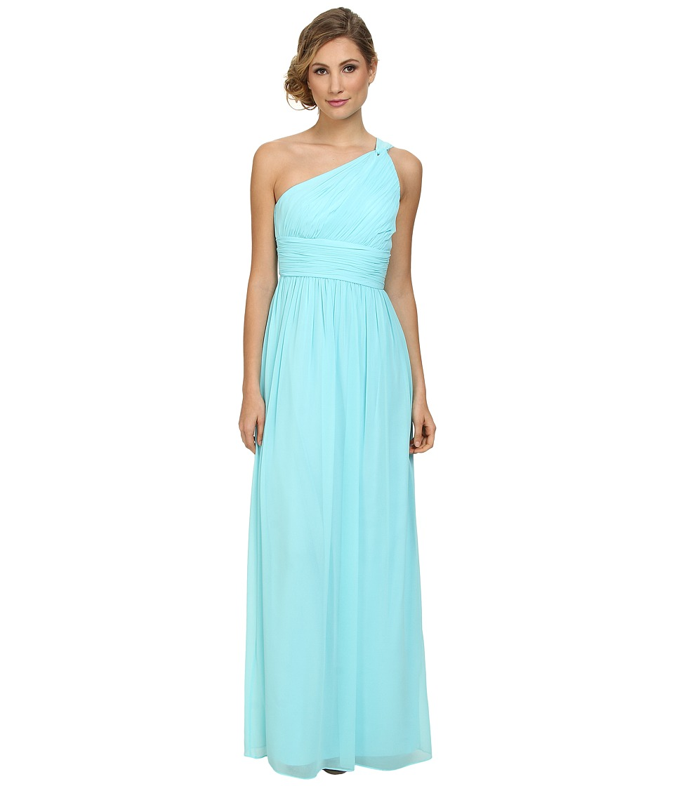Donna Morgan - One Shoulder Strapless Gown - Rachel (Gulfstream) Women's Dress
