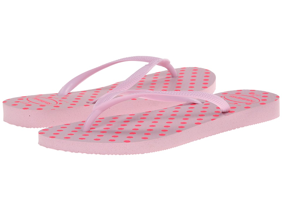 Havaianas - Slim Fresh Pop Up Flip Flops (Crystal Rose) Women's Sandals