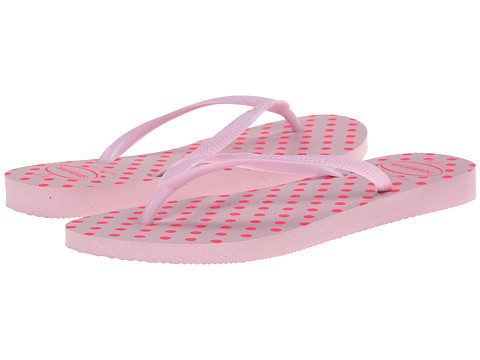 Havaianas - Slim Fresh Pop Up Flip Flops (Crystal Rose) Women