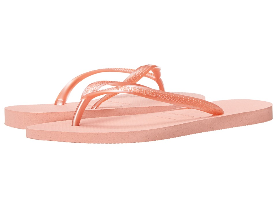 Havaianas - Slim Flip Flops (Light Pink 2) Women's Sandals