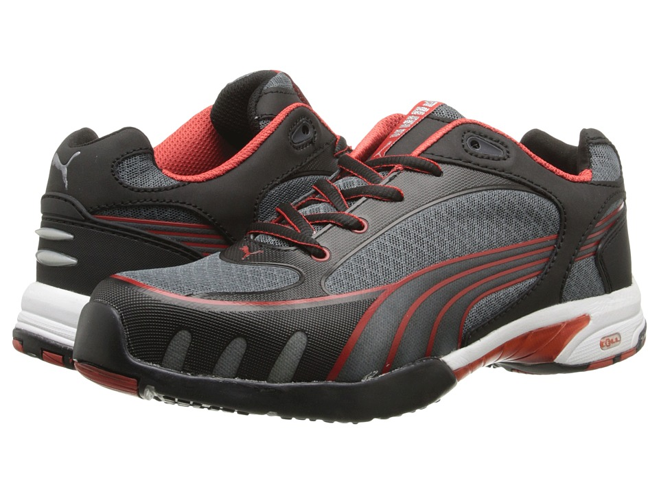 PUMA Safety - Fuse Motion SD (Black/Red) Women's Work Boots