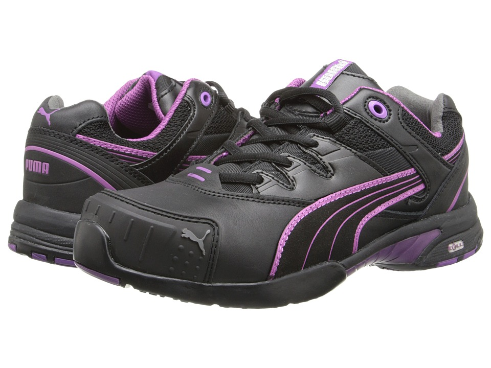 PUMA Safety - Stepper SD (Black/Purple) Women's Work Boots