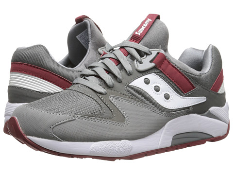 Saucony Originals - Grid 9000 (Grey/White) Men's Shoes