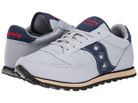 Saucony Originals - Jazz Low Pro Vegan (Grey/Blue) Women