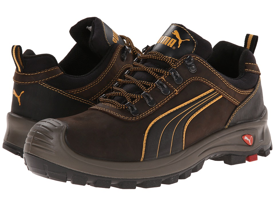 PUMA Safety - Sierra Nevada Low EH (Brown) Men's Work Boots