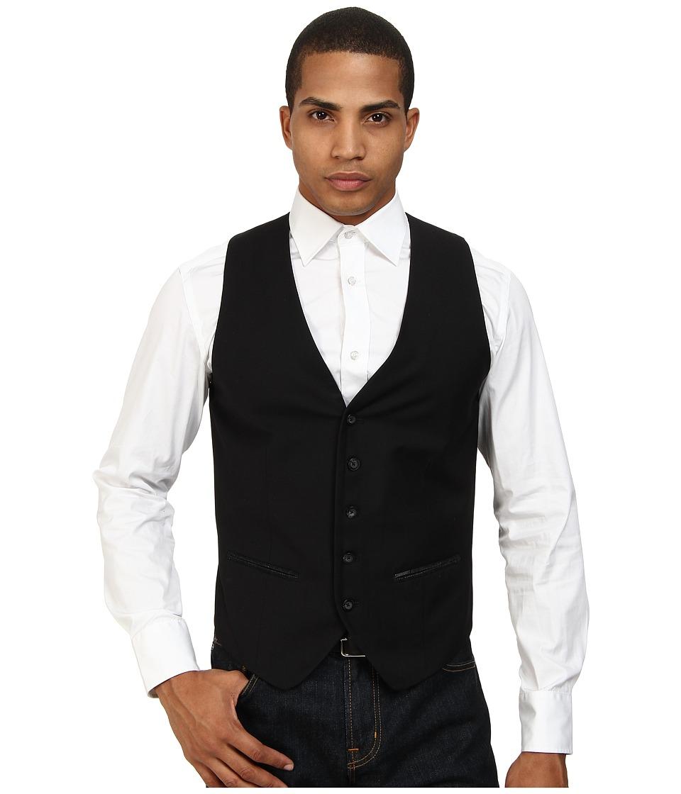 Diesel - J-Nestor Vest (Black) Men's Vest