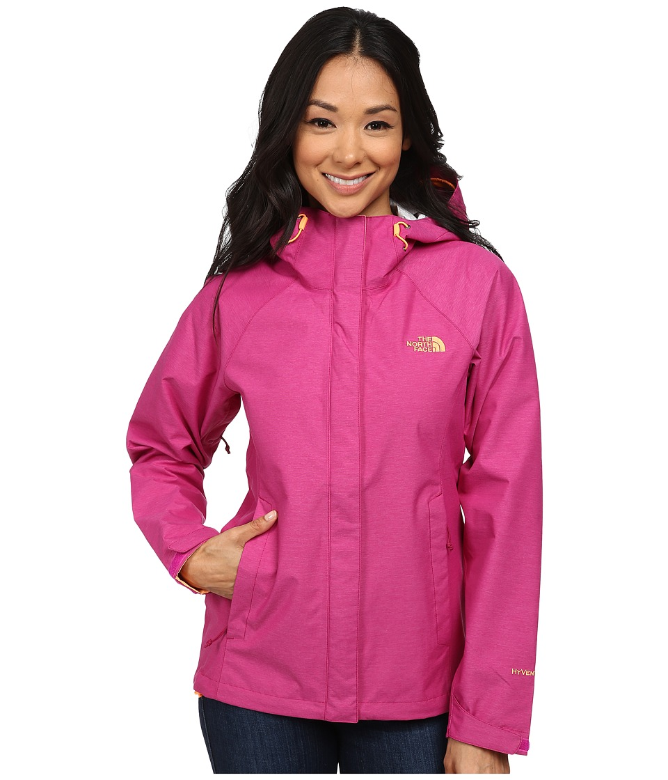The North Face - Venture Jacket (Dramatic Plum Heather) Women's Coat