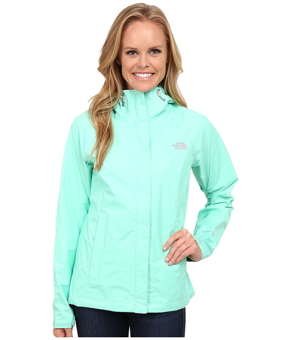 The North Face - Venture Jacket (Surf Green) Women's Coat