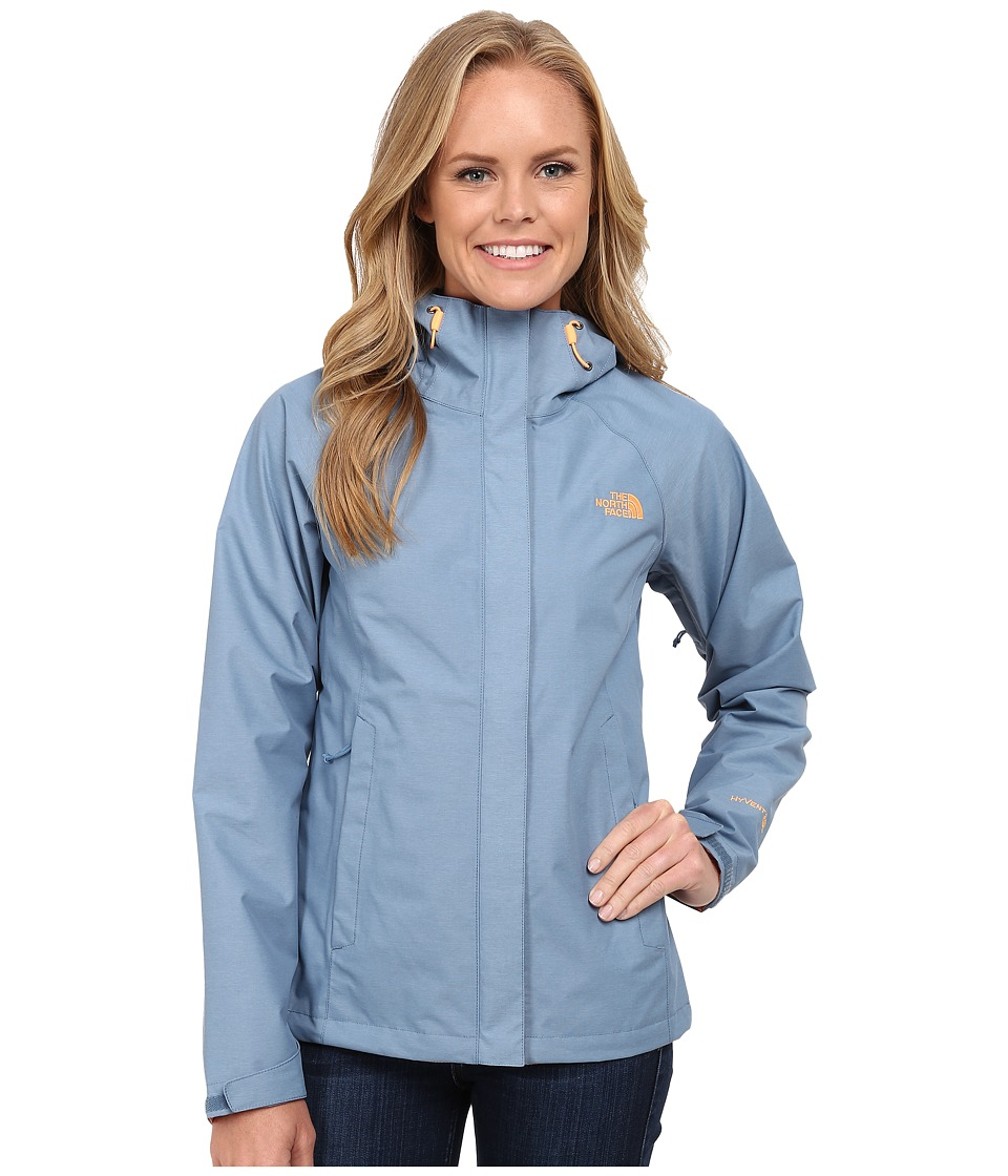 The North Face - Venture Jacket (Cool Blue Heather) Women's Coat