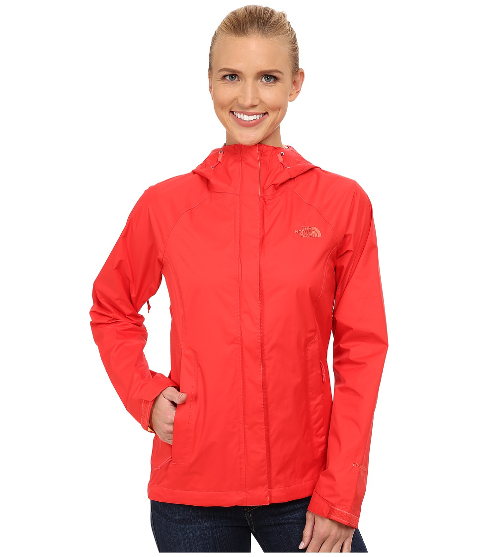 The North Face - Venture Jacket (Melon Red) Women's Coat