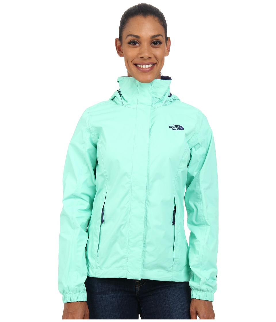 The North Face - Resolve Jacket (Surf Green) Women's Coat