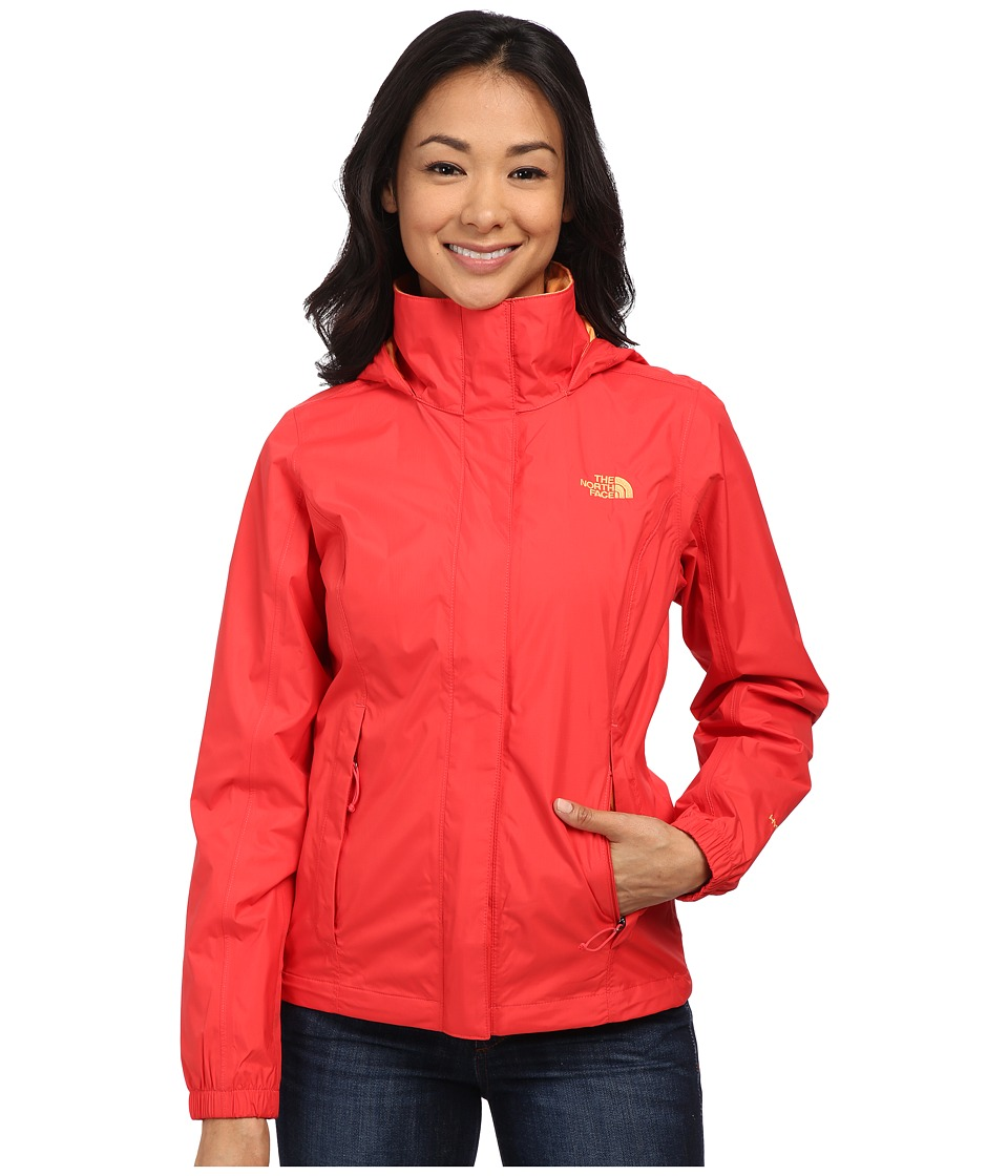 The North Face - Resolve Jacket (Melon Red) Women's Coat