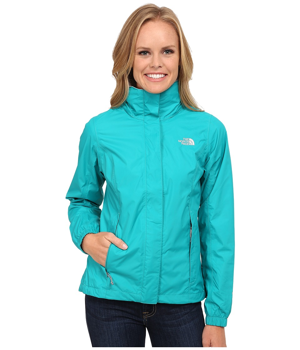 The North Face - Resolve Jacket (Kokomo Green) Women's Coat