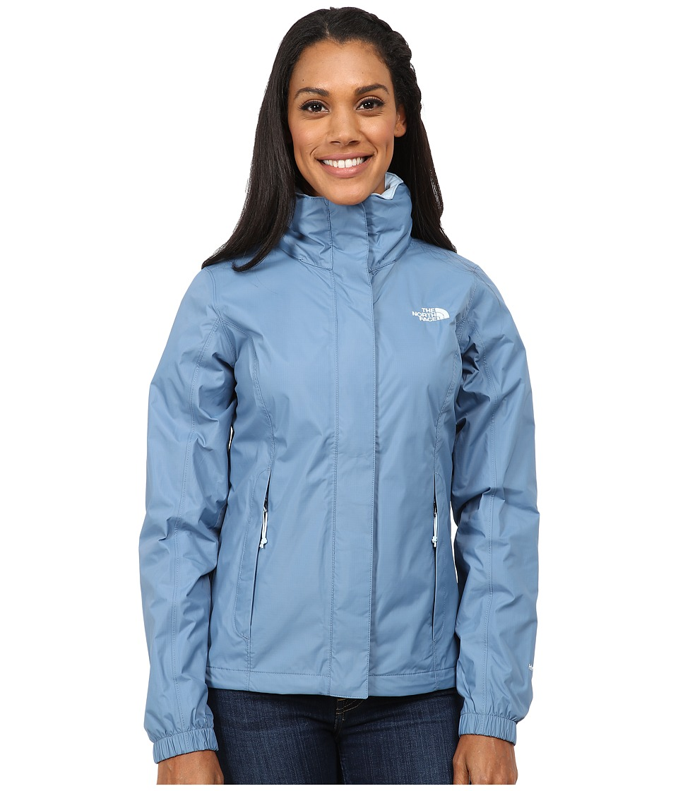 The North Face - Resolve Jacket (Cool Blue) Women's Coat