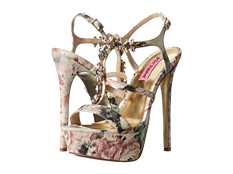Betsey Johnson - Noblee (Flower Multi) High Heels