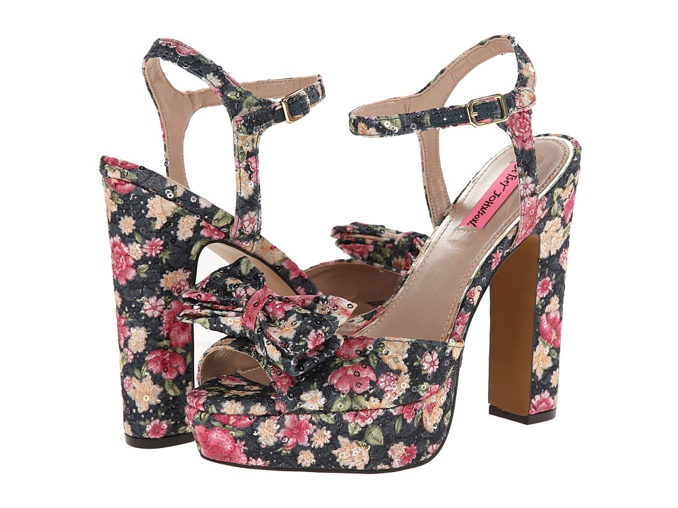 Betsey Johnson - Applause (Blue Multi) High Heels