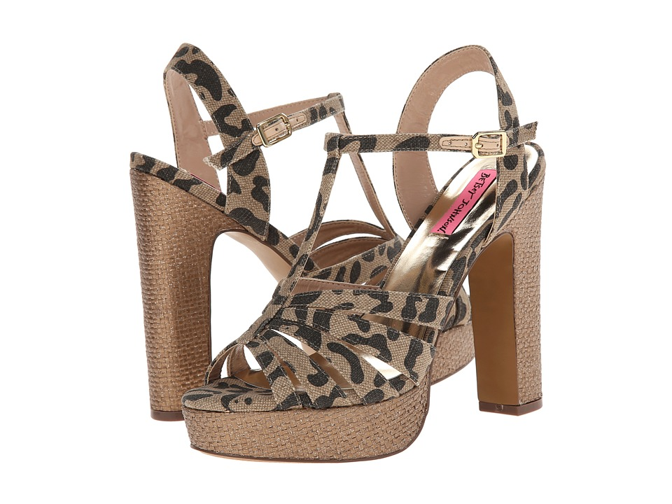 Betsey Johnson Magiic (Leopard) High Heels
