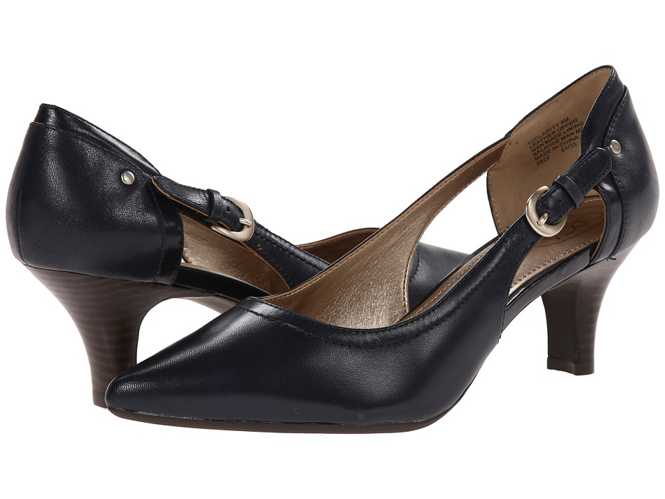 Circa Joan & David - Clarity (Navy Leather) High Heels