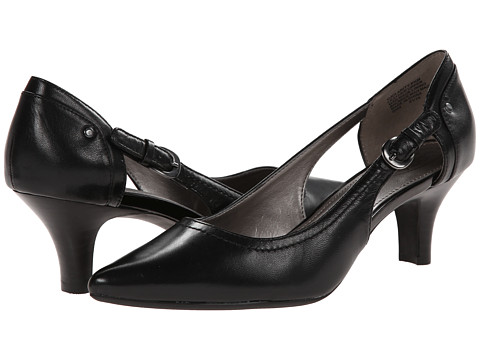Circa Joan & David - Clarity (Black Leather) High Heels