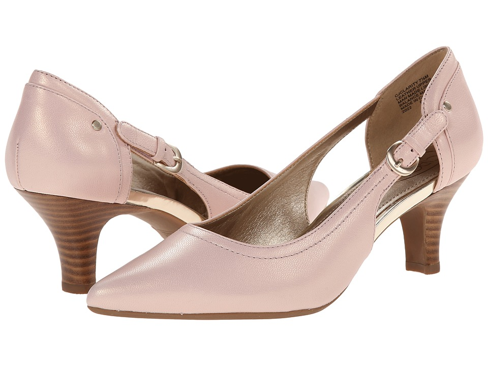 Circa Joan & David - Clarity (Light Pink Leather) High Heels