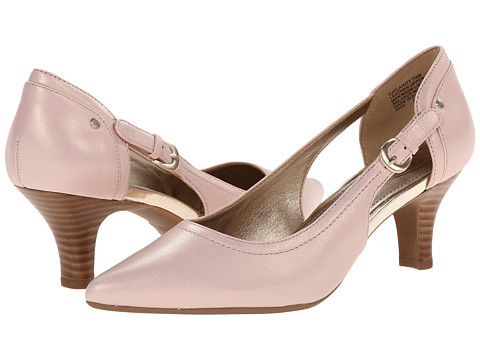 Circa Joan & David - Clarity (Light Pink Leather) High Heels