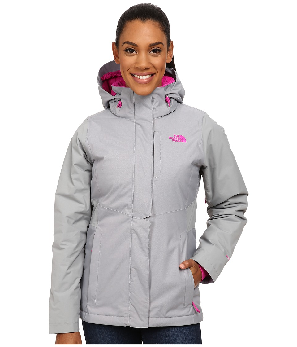 The North Face - Inlux Insulated Jacket (Mid Grey) Women's Coat