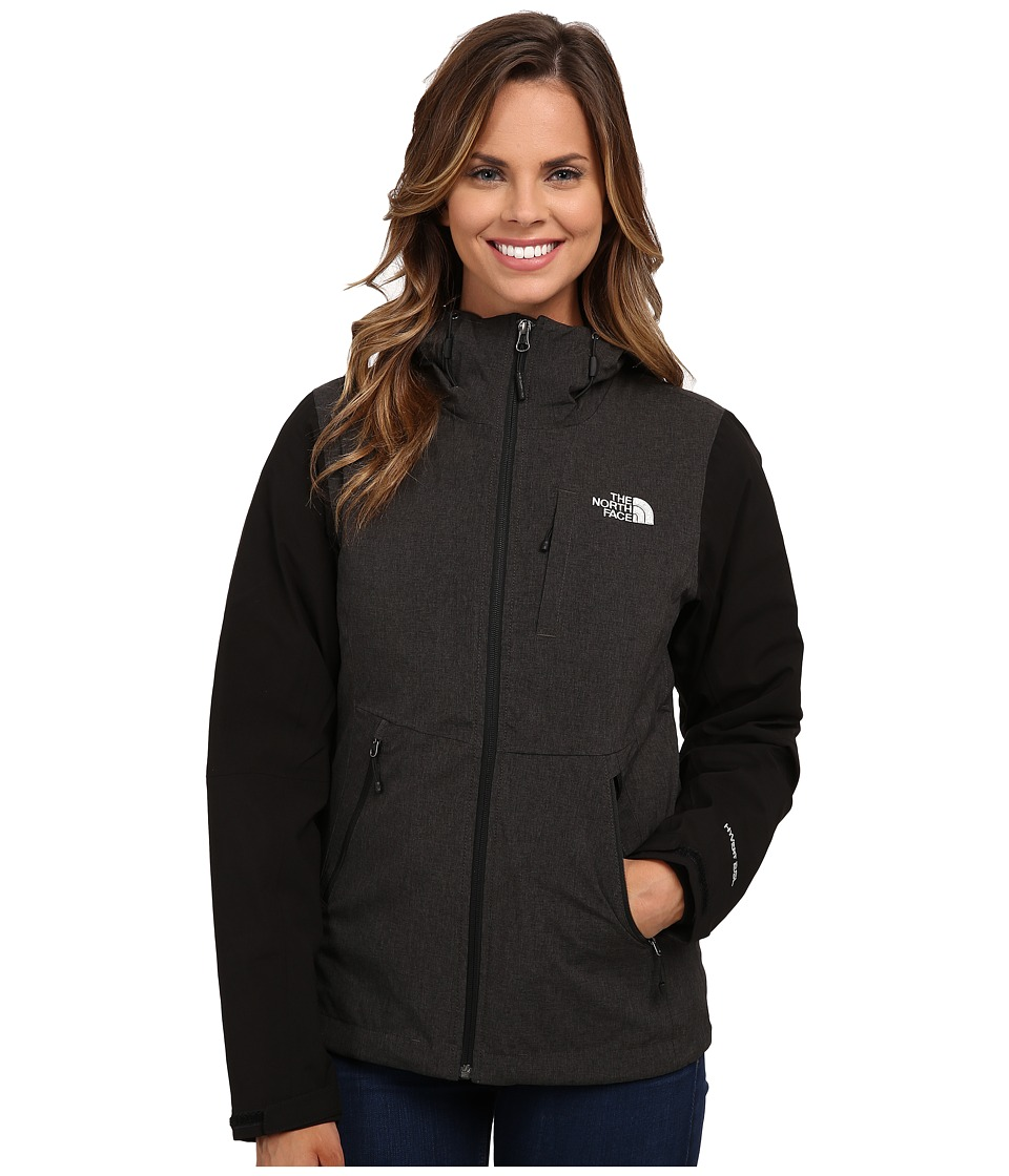 The North Face - ThermoBall Triclimate Jacket (TNF Black Heather/TNF Black) Women's Coat