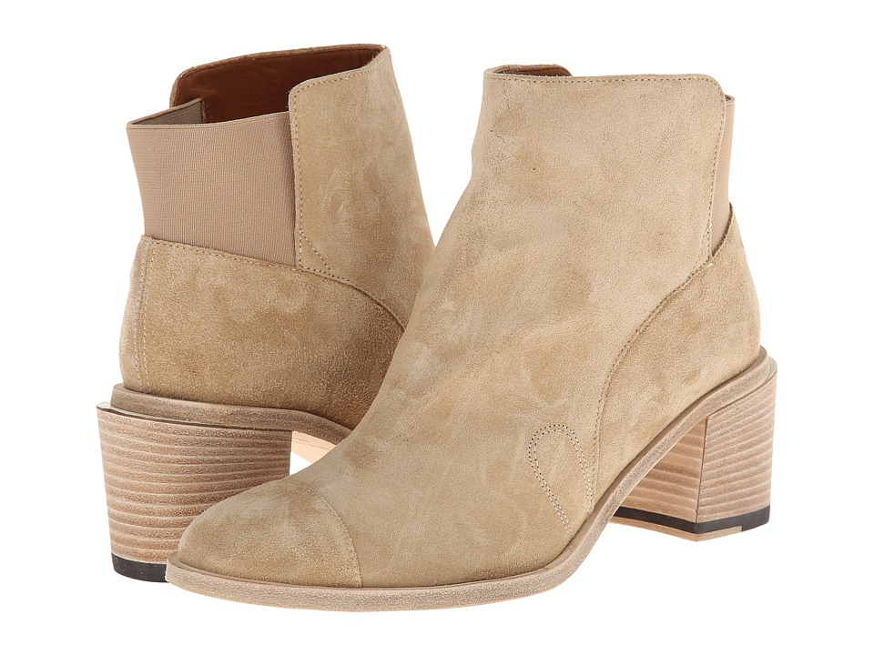 Band of Outsiders - Jodhpur Ankle Boot (Khaki) Women's Boots