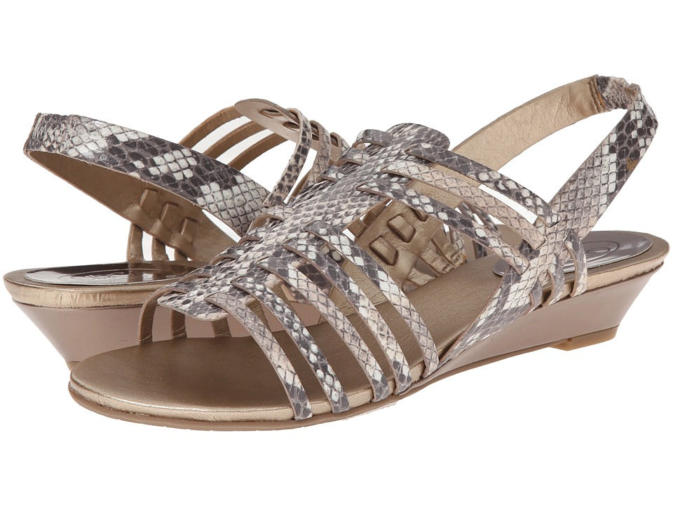 Circa Joan & David - Faiza (Light Natural Multi Synthetic) Women's Sandals