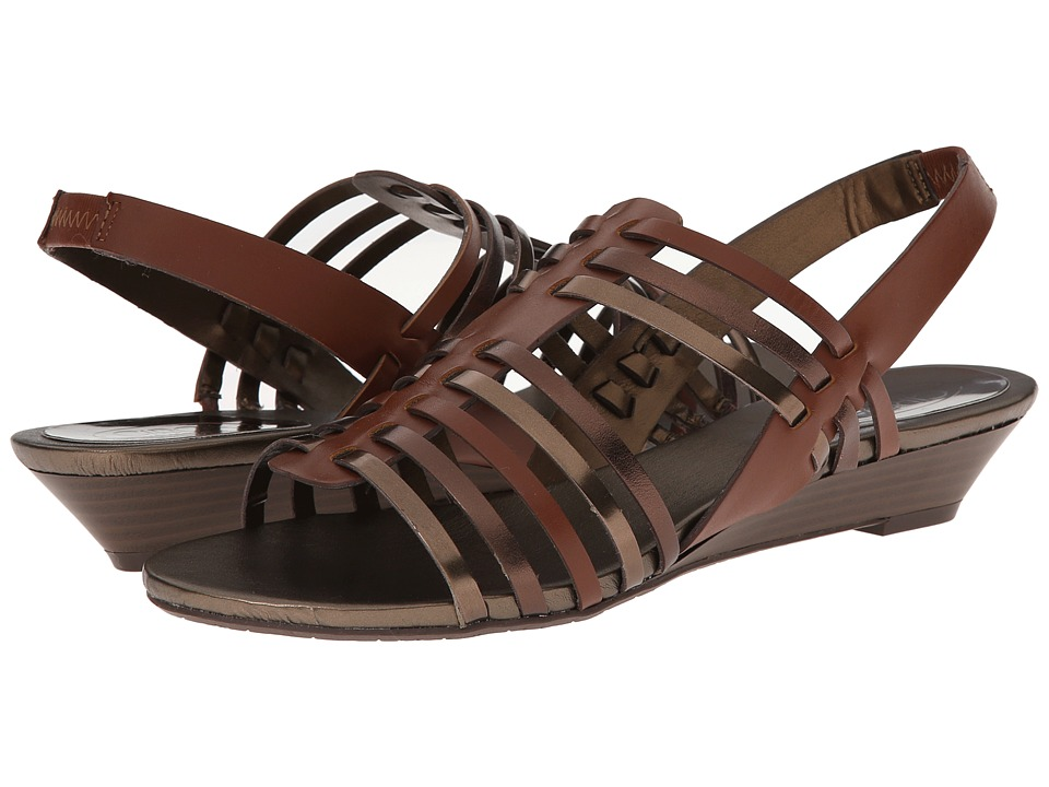 Circa Joan & David - Faiza (Medium Brown Leather) Women's Sandals