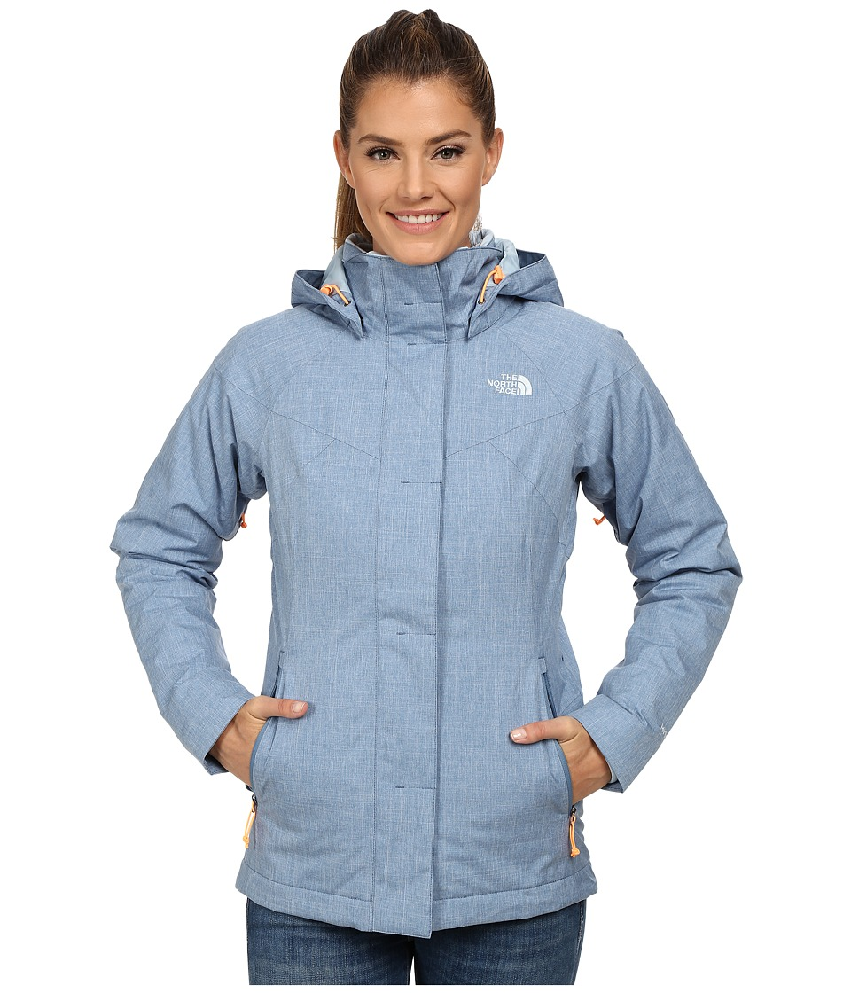 The North Face - Kalispell Triclimate Jacket (Cool Blue) Women's Coat