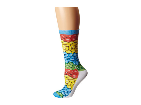 Converse - Candy Sublimated Crew Single (Multi) Women's No Show Socks Shoes