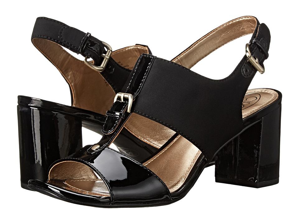 Circa Joan & David - Kalista (Black Multi Fabric) High Heels