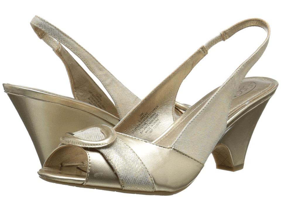 Circa Joan & David - Neera (Off White Multi Leather) High Heels