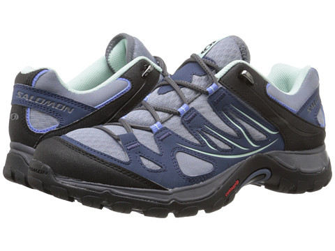 Salomon - Ellipse Aero (Stone Blue/Slateblue/Petunia Blue) Women