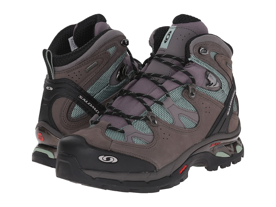 Salomon - Comet 3D Lady GTX (Lichen Green/Autobahn/Lichen Green) Women's Shoes