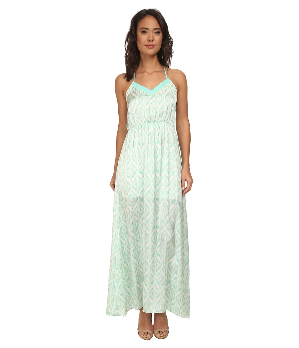 Gabriella Rocha - Ballet Print Maxi Dress (Mint) Women's Dress
