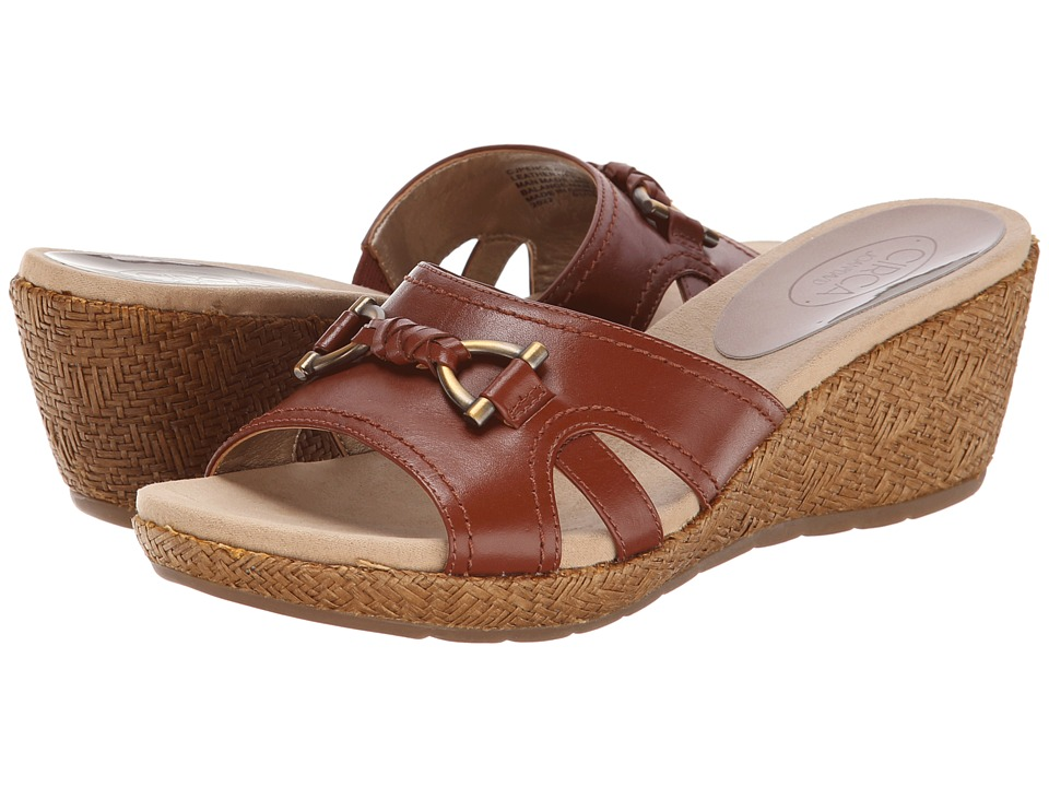 Circa Joan & David - Pence (Medium Brown Leather) Women's Sandals