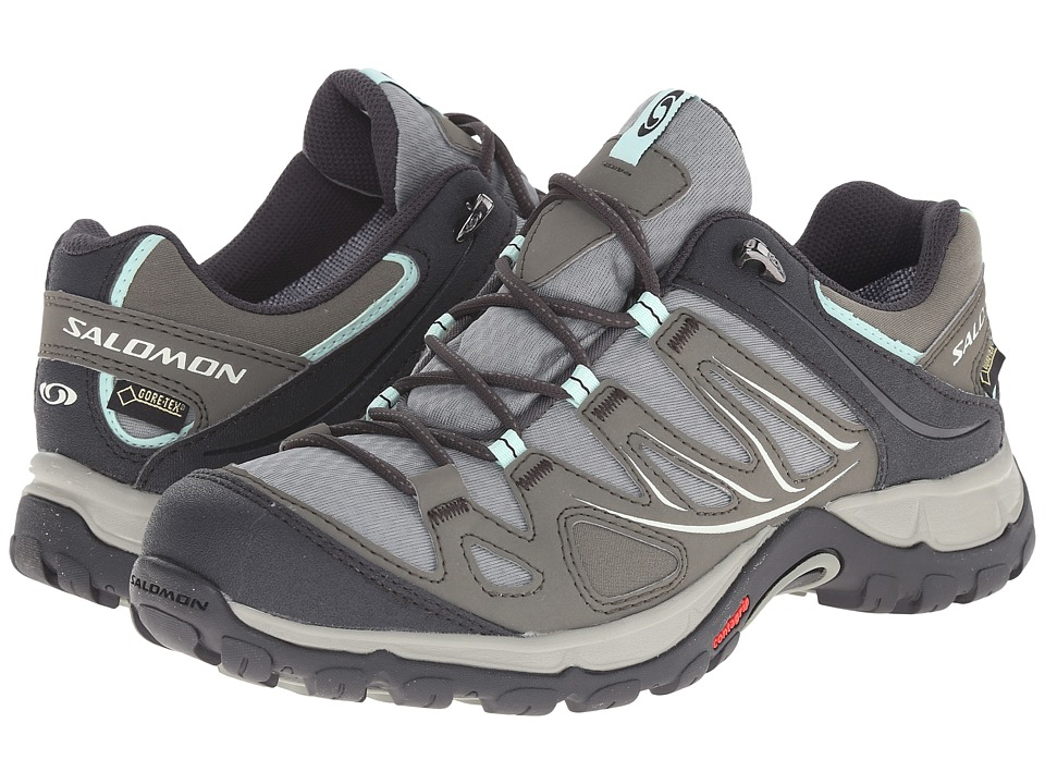 Salomon - Ellipse GTX (Verdigrey/Tempest/Igloo Blue) Women's Shoes