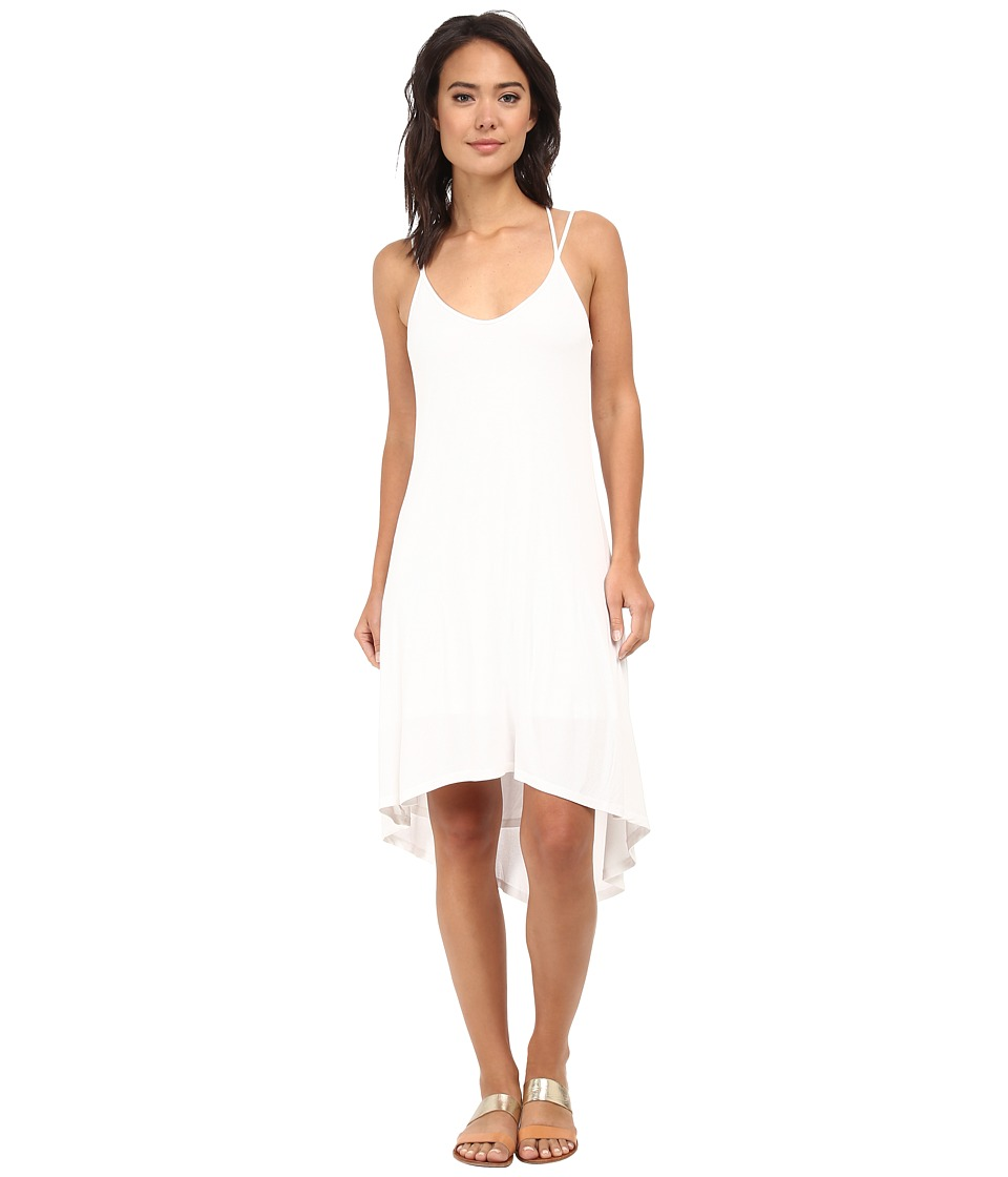 Splendid - 2x1 Rib Dress (White) Women's Dress
