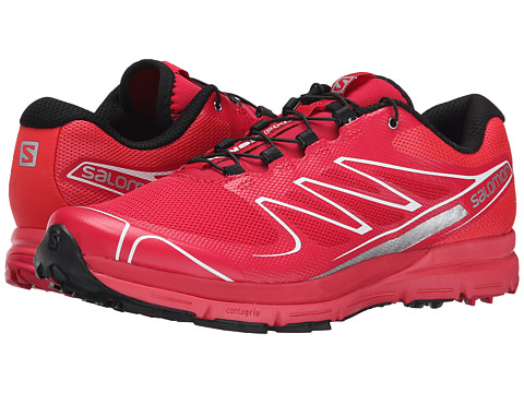 Salomon - Sense Pro (Lotus Pink/Papaya-B/Black) Women's Running Shoes