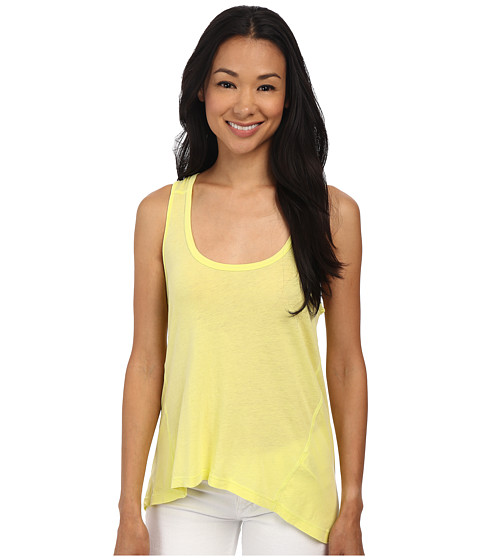 Splendid - Vintage Whisper Tank Top (Bright Chartreuse) Women's Sleeveless