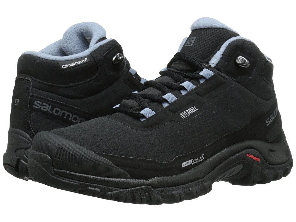 Salomon Shelter CS WP (Black/Black/Stone Blue) Women