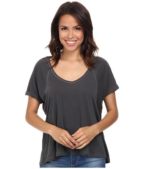 Splendid - Vintage Whisper Tee (Lead) Women's T Shirt