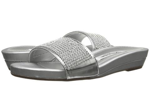 Nina - Bently (Silver) Women's Slide Shoes