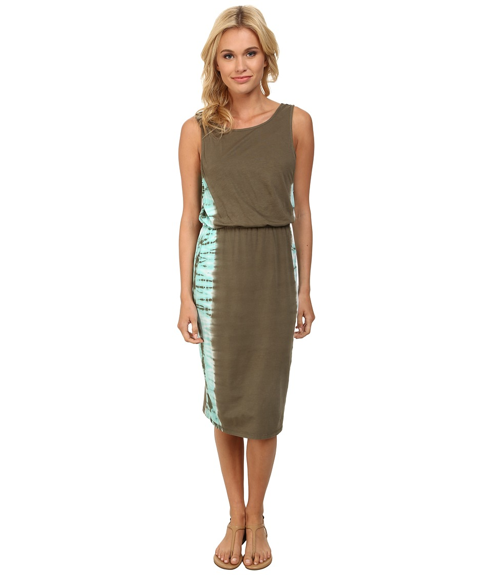 Splendid - Kaleidoscope Dress (Dusty Olive) Women's Dress