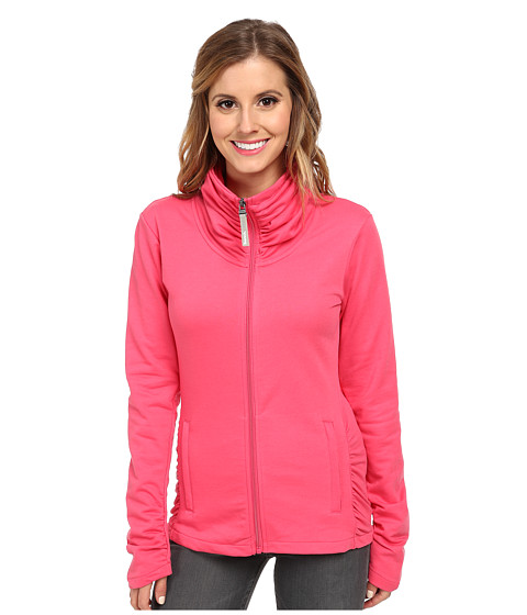 Bench - Nolie Zip Thru (Honeysuckle) Women's Sweatshirt