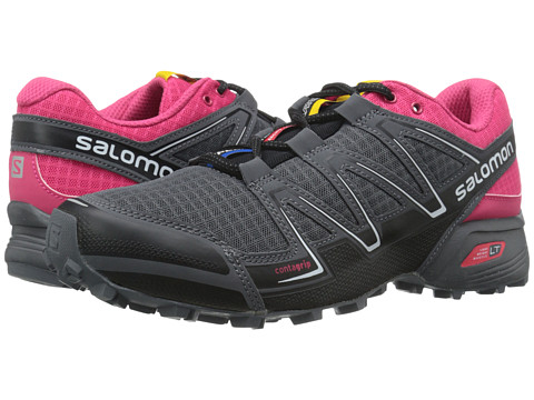 Salomon - Speedcross Vario (Black/Hot Pink/Dark Cloud) Women's Shoes