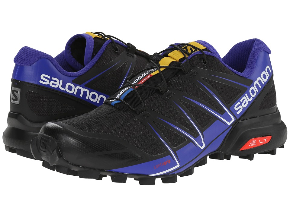 Salomon - Speedcross Pro (Black/Spectrum Blue/White) Women's Shoes